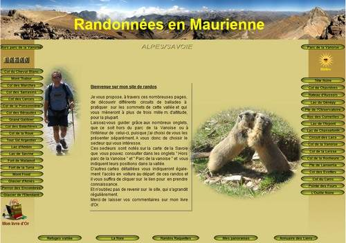 Randonnées en Maurienne